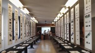 Aula dell'esposizione dei progetti di laboratorio