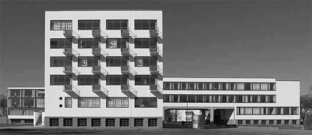 Sede della Bauhaus, Dessau_1926, Walter Gropius