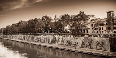 roma, walking photography