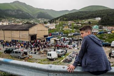 Il mercato di Milot (Albania)