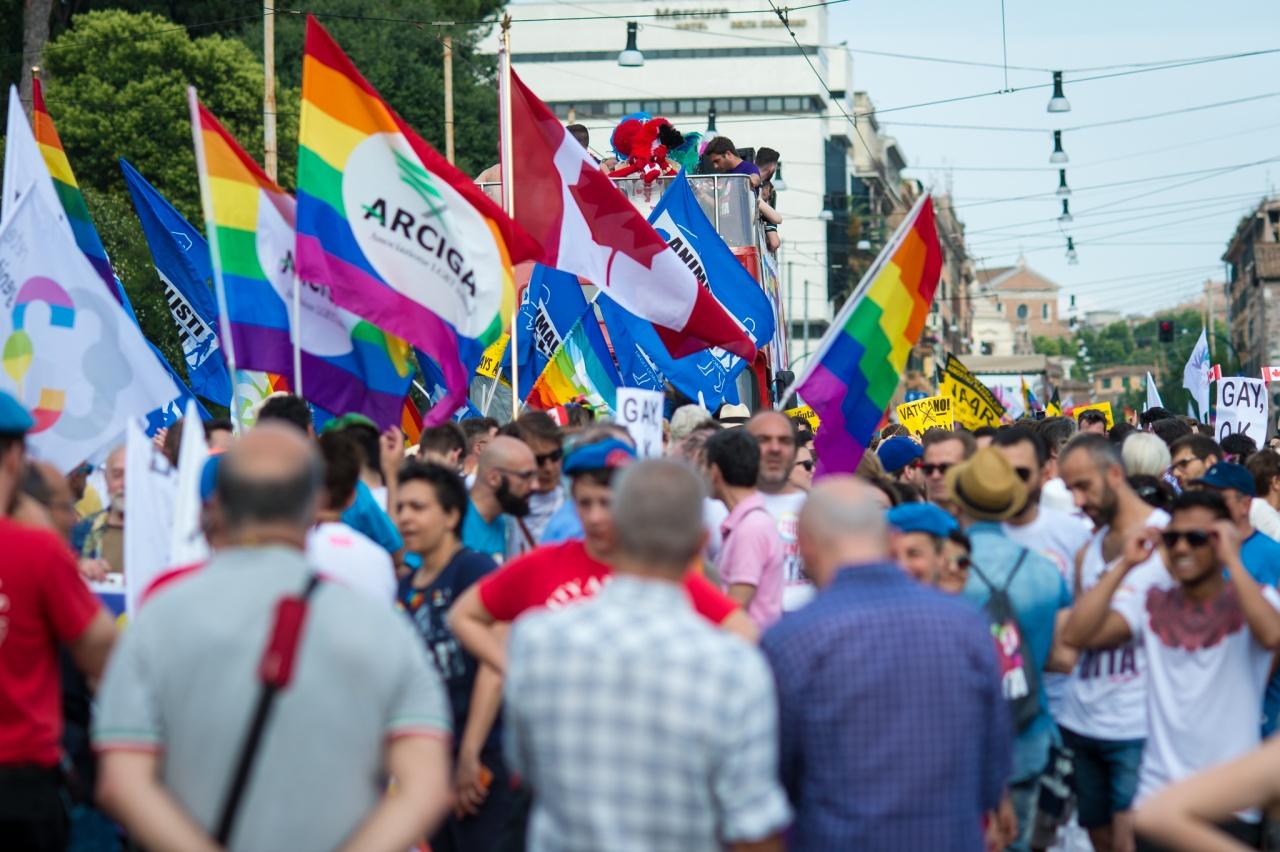 gay pride, roma 2016